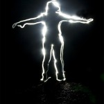 Lichtmalerei_Mensch
